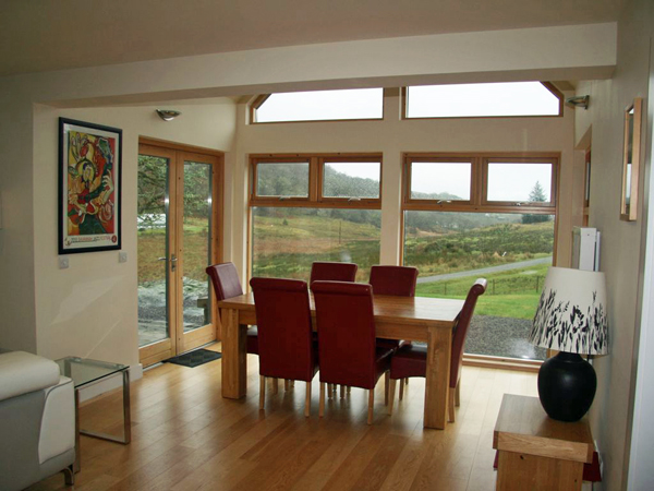 Collaig Byre self catering by Loch Awe Argyll Scotland - Dining